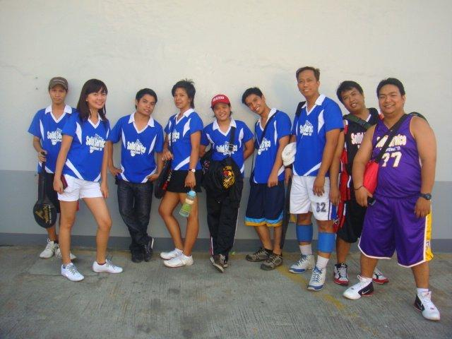 SEC Badminton Players