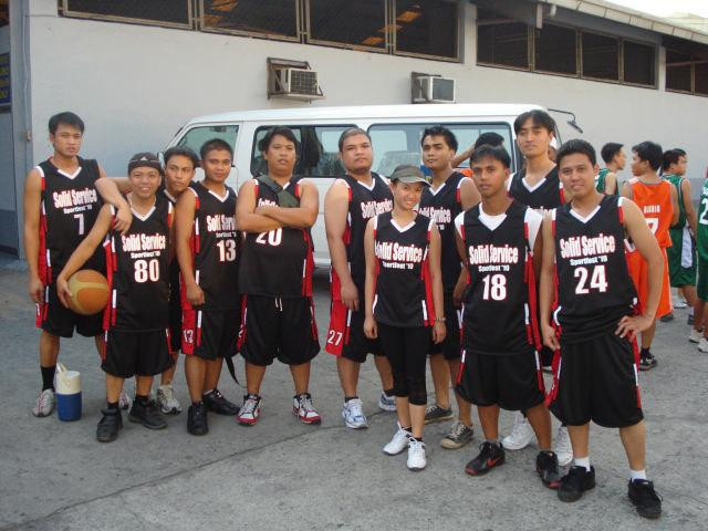 The RED BLACK BASKETBALL Team